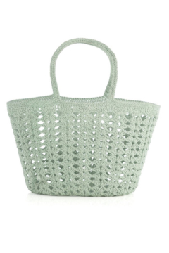 Shiraleah Louise Crochet Tote - Alternate List Image