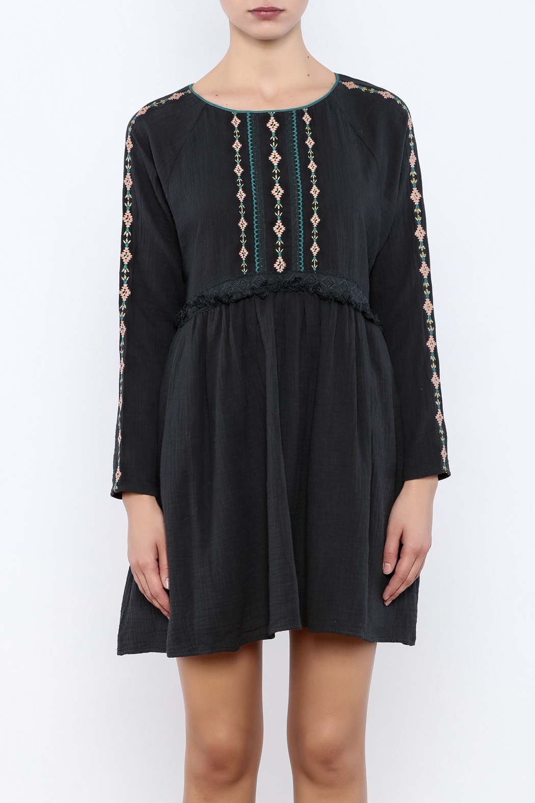 Louise Misha Falele Peasant Dress - Side Cropped Image