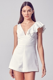 Do + Be  Louise Ruffled Romper - Front cropped