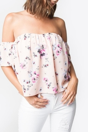 Sugar Lips Louise Strapless Top - Product Mini Image