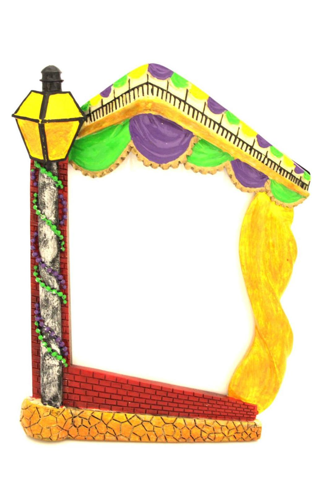 Louisiana Gifts & Gallery Mardi-Gras Lamp-Post Frame from Alabama by ...