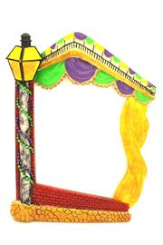 Louisiana Gifts & Gallery Mardi-Gras Lamp-Post Frame - Product Mini Image