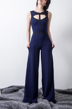 Shoptiques Product: Elegant Stretch Jumpsuit