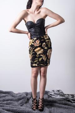 Loula by Zermeno Floral Pencil Skirt - Product List Image