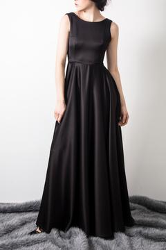Shoptiques Product: Satin Black Dress