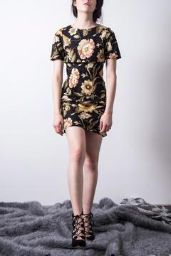 Loula by Zermeno Short Floral Dress - Product List Image
