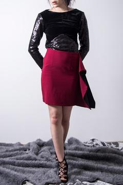 Shoptiques Product: Wine Pencil Skirt