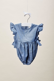 Lil Lemons Loulou Ruffle Romper - Side cropped