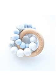 loulou LOLLIPOP Baby Blue Teether - Product Mini Image