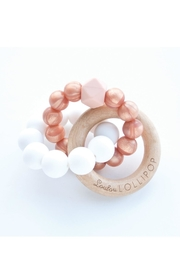 loulou LOLLIPOP Rose Gold Teether - Product Mini Image