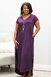 Entro Lounge Around Pocket Maxi Dress - Product Mini Image
