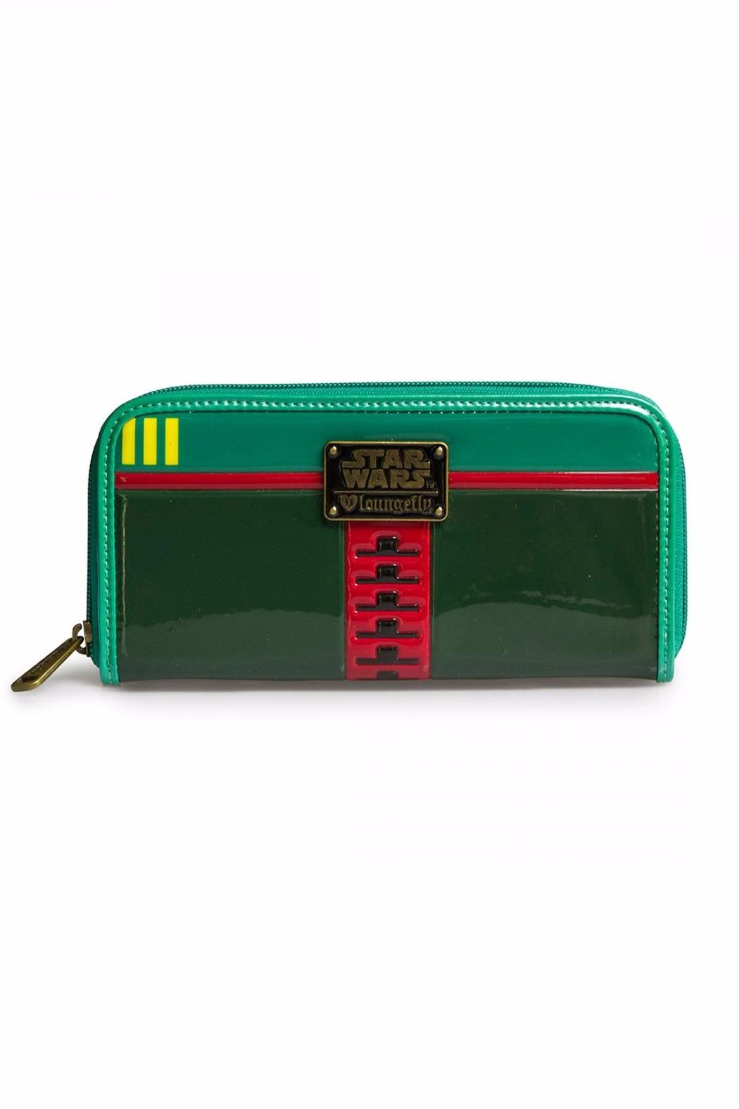 Loungefly Boba Fett Wallet - Side Cropped Image