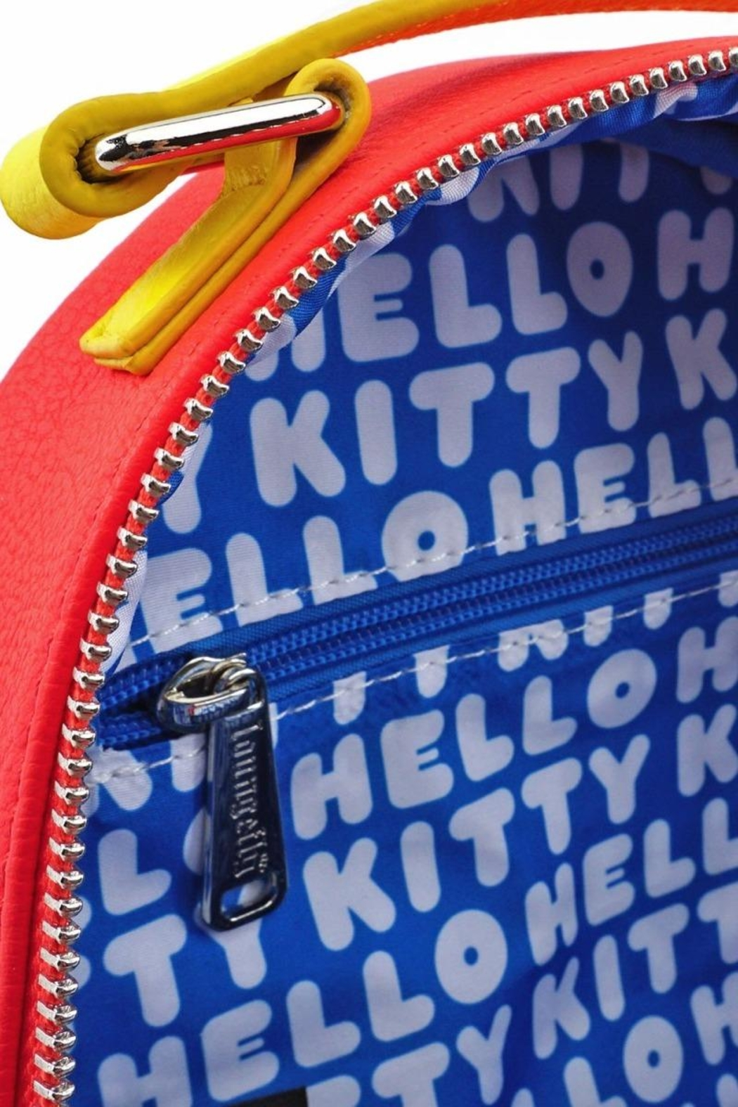 Loungefly Hello Kitty Convertible-Backpack - Side Cropped Image