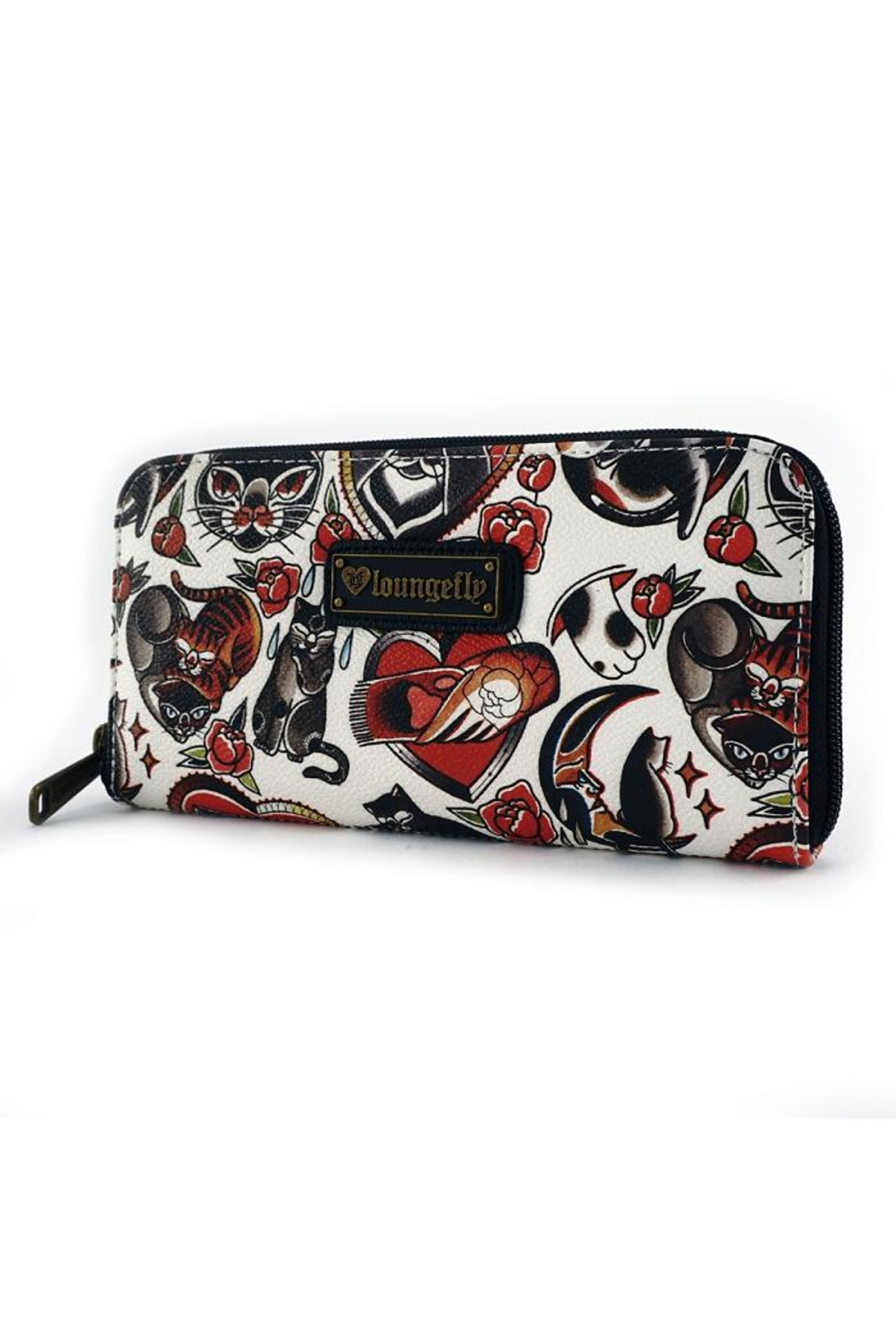 Loungefly Kitty Flash Wallet - Front Full Image