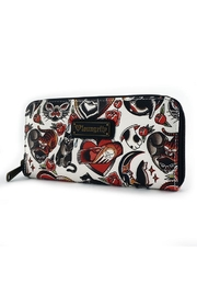 Loungefly Kitty Flash Wallet - Front full body