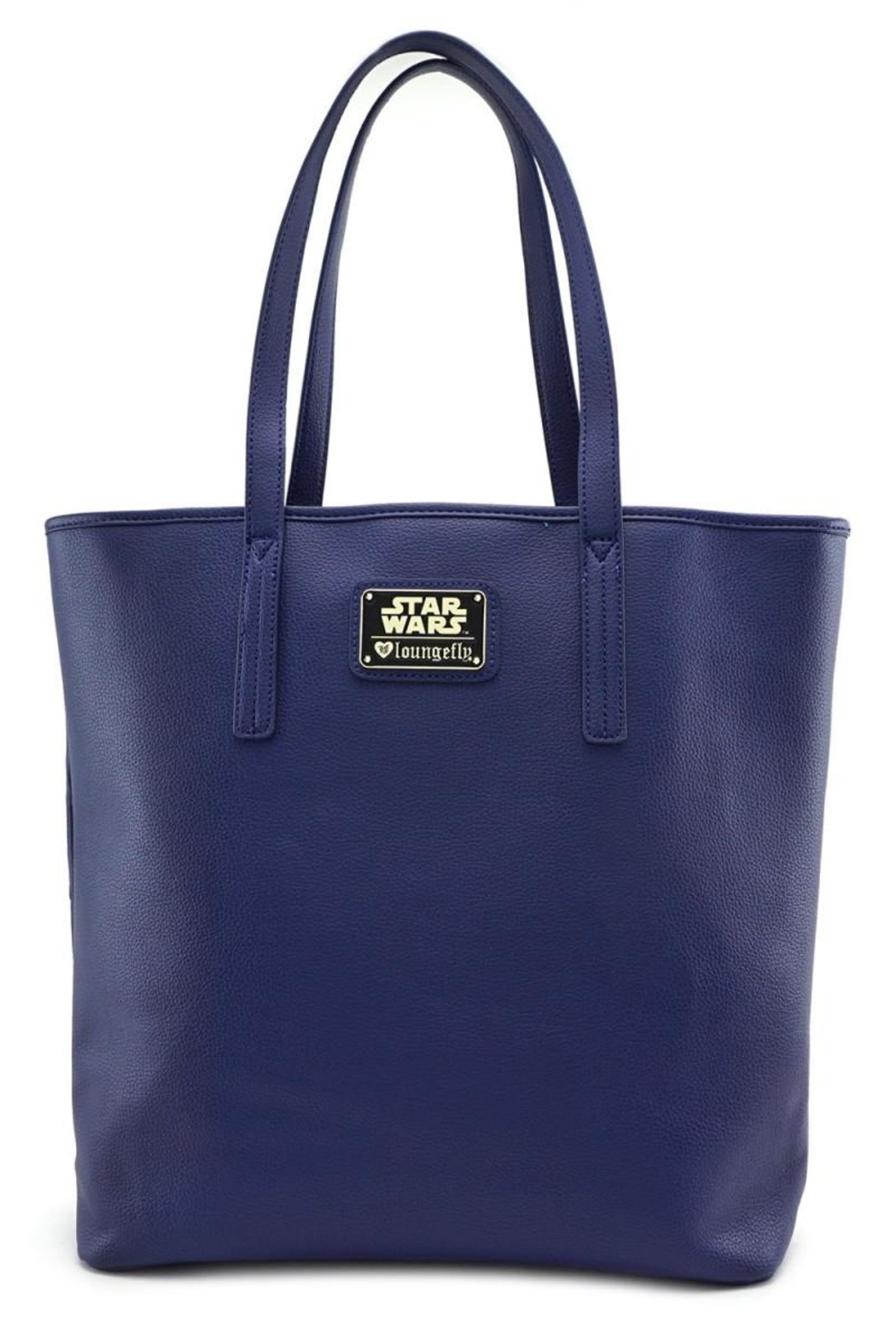 Loungefly R2d2 Embossed Tote-Bag - Front Full Image