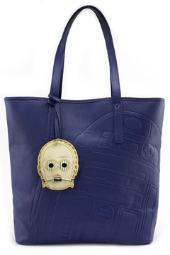 Shoptiques Product: R2d2 Embossed Tote-Bag