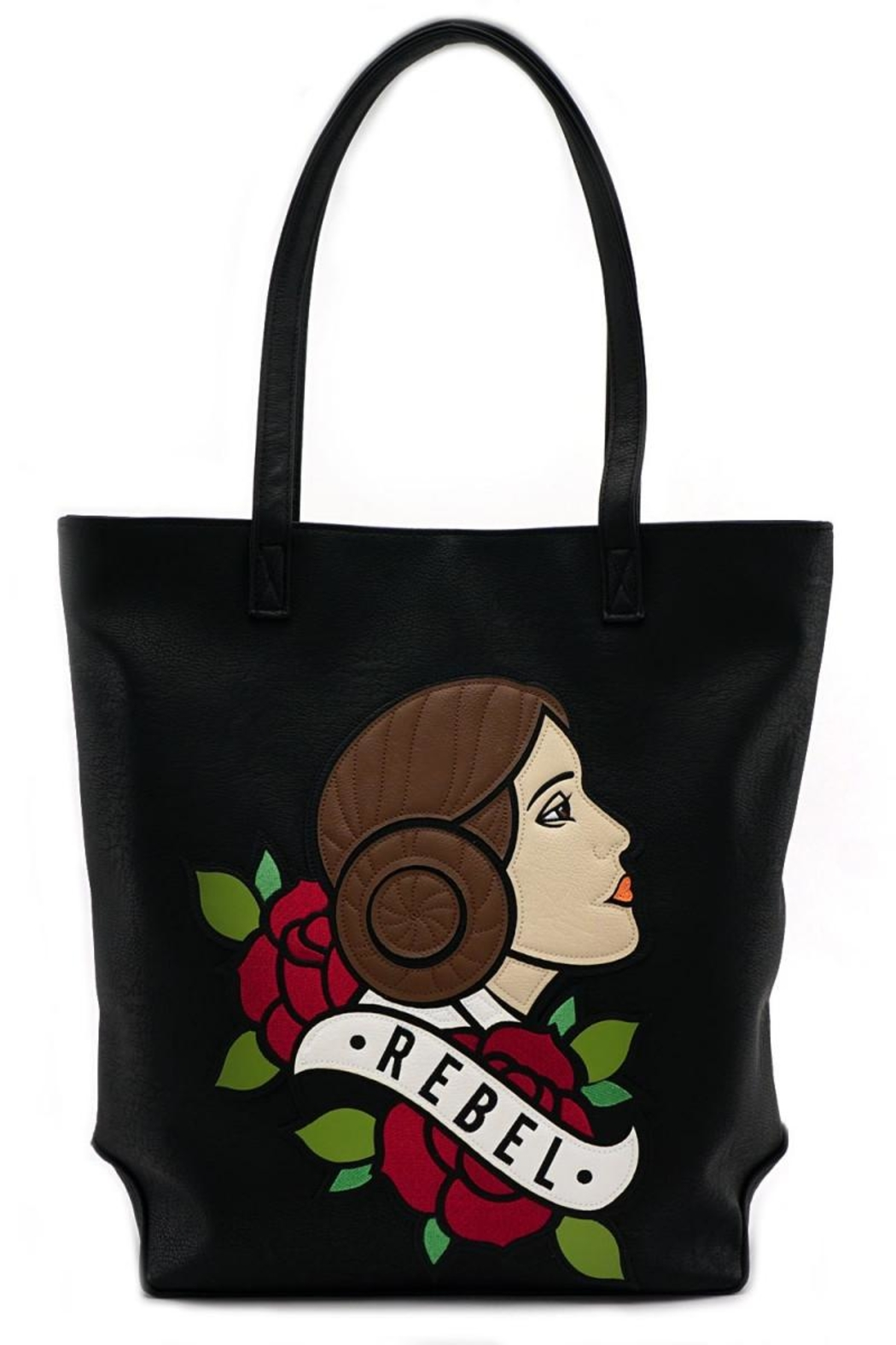 Loungefly Rebel Leia Tote-Bag - Front Cropped Image