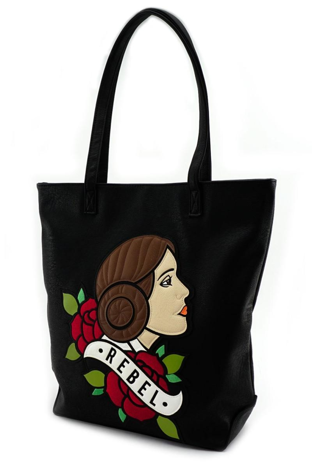 Loungefly Rebel Leia Tote-Bag - Side Cropped Image