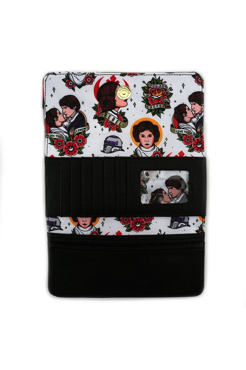 Loungefly Rebel Leia Wallet - Side Cropped Image