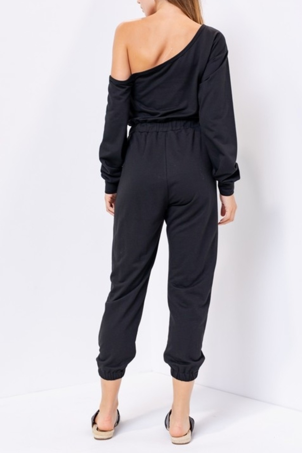 Le Lis Lounging in Style jumpsuit - Front Full Image