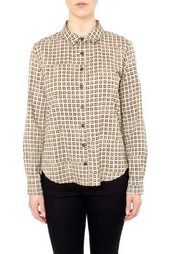 Shoptiques Product: Beige Print Shirt