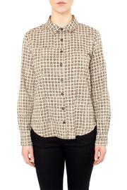 Loup Beige Print Shirt - Product Mini Image