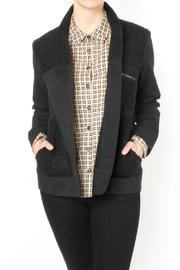 Loup Black Twill Jacket - Product Mini Image