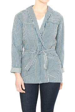Loup Stripe Denim Jacket - Product List Image