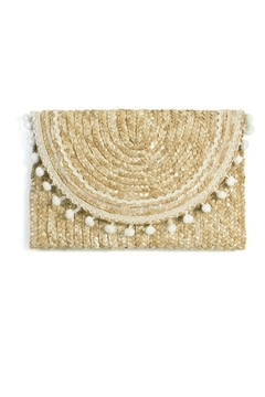 Shoptiques Product: Lourdes Straw Clutch