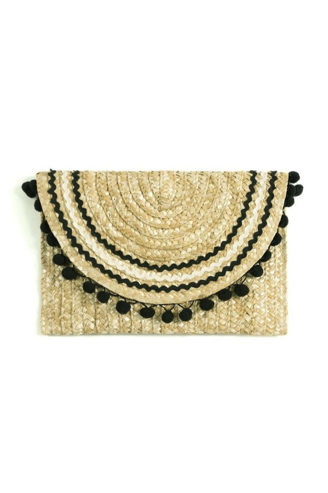 Shiraleah Lourdes Straw Clutch - Main Image