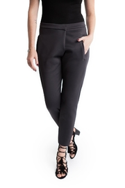 Lovan M Costa Charcoal Pant - Front cropped