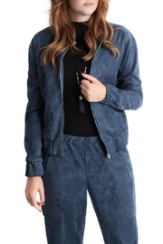 Lovan M North Suede Bomber - Product Mini Image