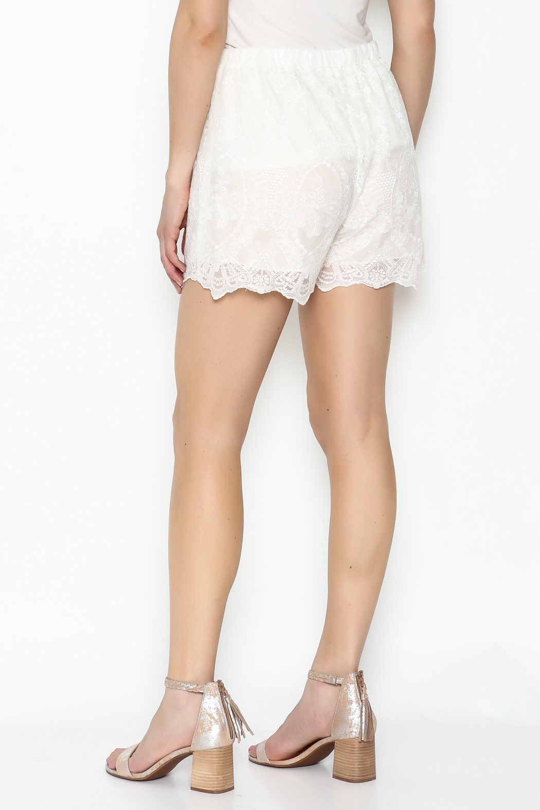 Love & Liberty Mamie Shorts - Back Cropped Image