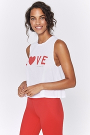 SPIRITUAL GANGSTER Love Active Crop - Front full body