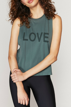 Spiritual Gangster  Love Active Flow Top - Product List Image