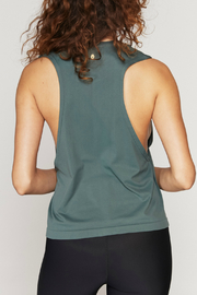 SPIRITUAL GANGSTER Love Active Flow Top - Front full body