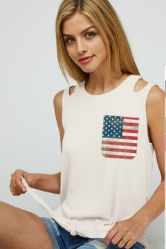 Shoptiques Product: LOVE AMERICAN STYLE TANK