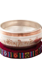 Tibet Arts Love and Compassion singing bowl - Front cropped