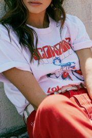 Daydreamer Love At First Bite Oversized Tee - Back cropped