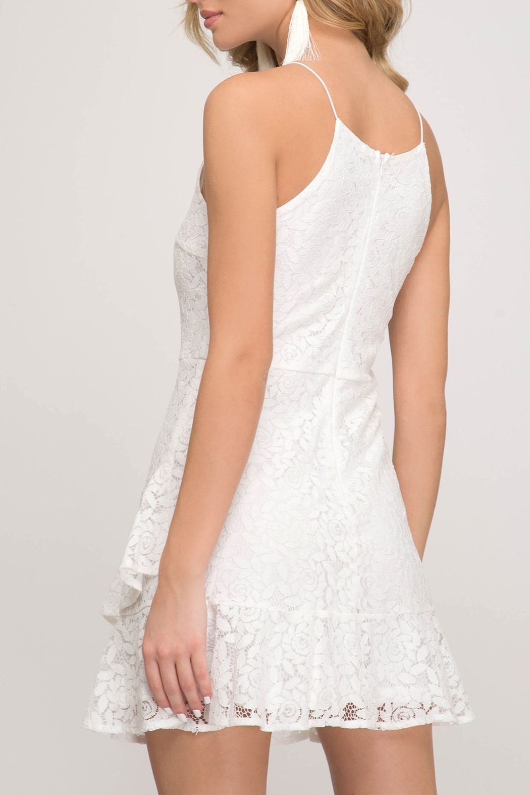 She & Sky  Love at First Sight dress - Front Full Image