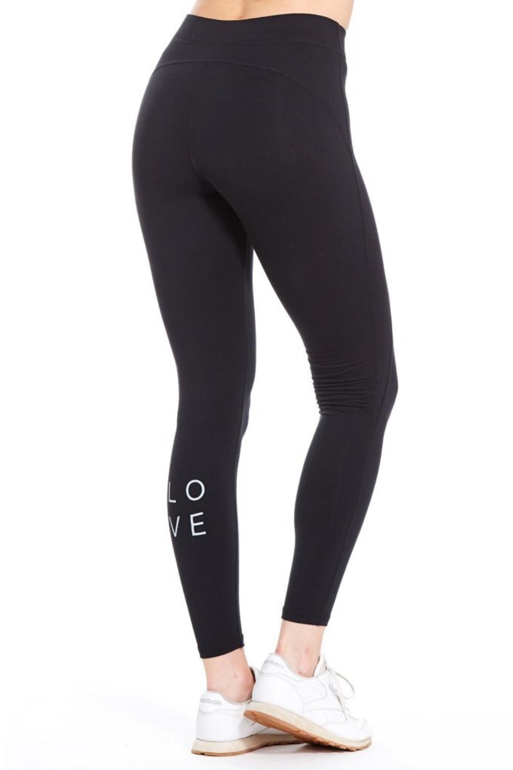 Good hYouman Love Athletic Legging - Front Full Image