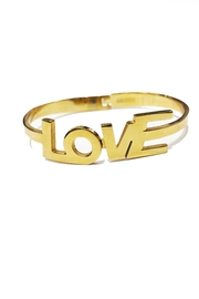 Lets Accessorize Love Bangle - Product Mini Image