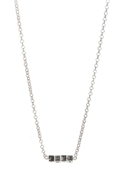 Fashion City LOVE Block Pendant Necklace - Side cropped