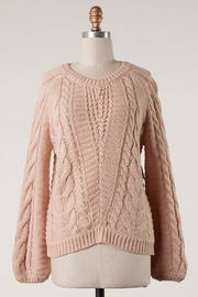MAK Love Blush Sweater - Product Mini Image