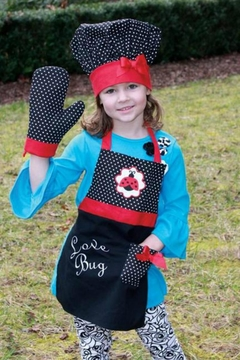 Manual Woodworkers and Weavers Love Bug Apron - Alternate List Image