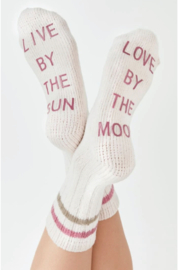 z supply Love By Rib Socks - Front cropped