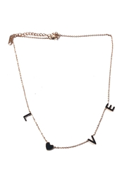 Lets Accessorize Love Charm Necklace - Product Mini Image