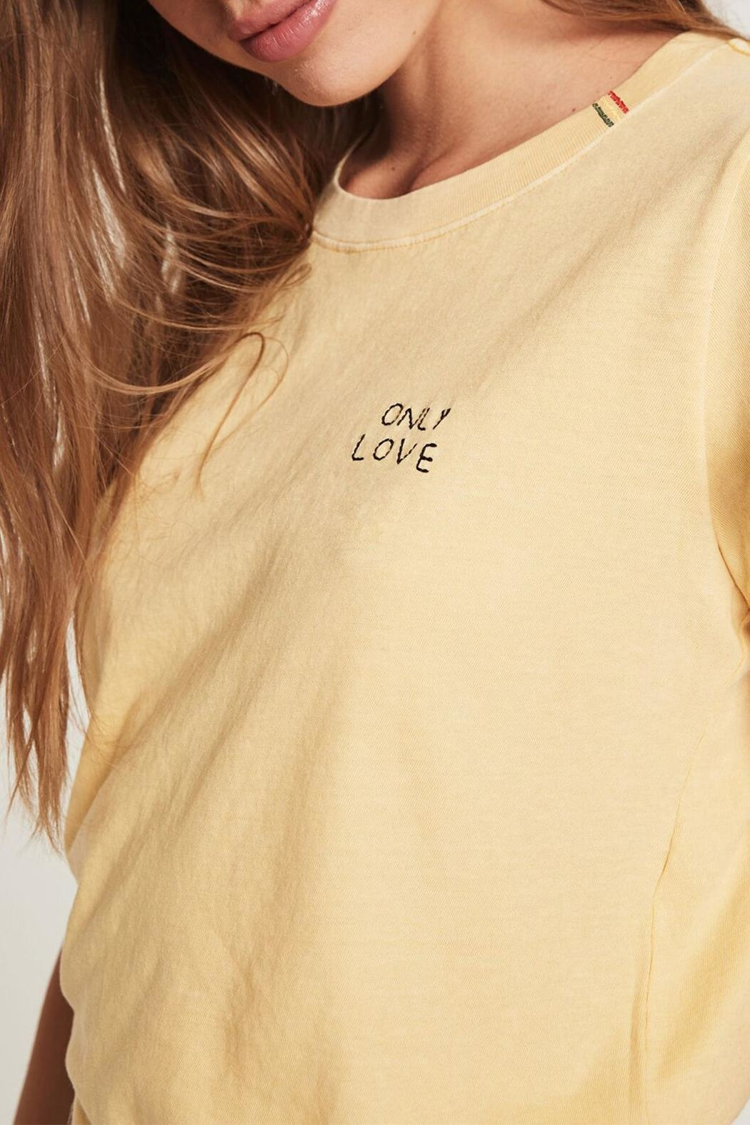 SPIRITUAL GANGSTER Love Classic Tee - Back Cropped Image