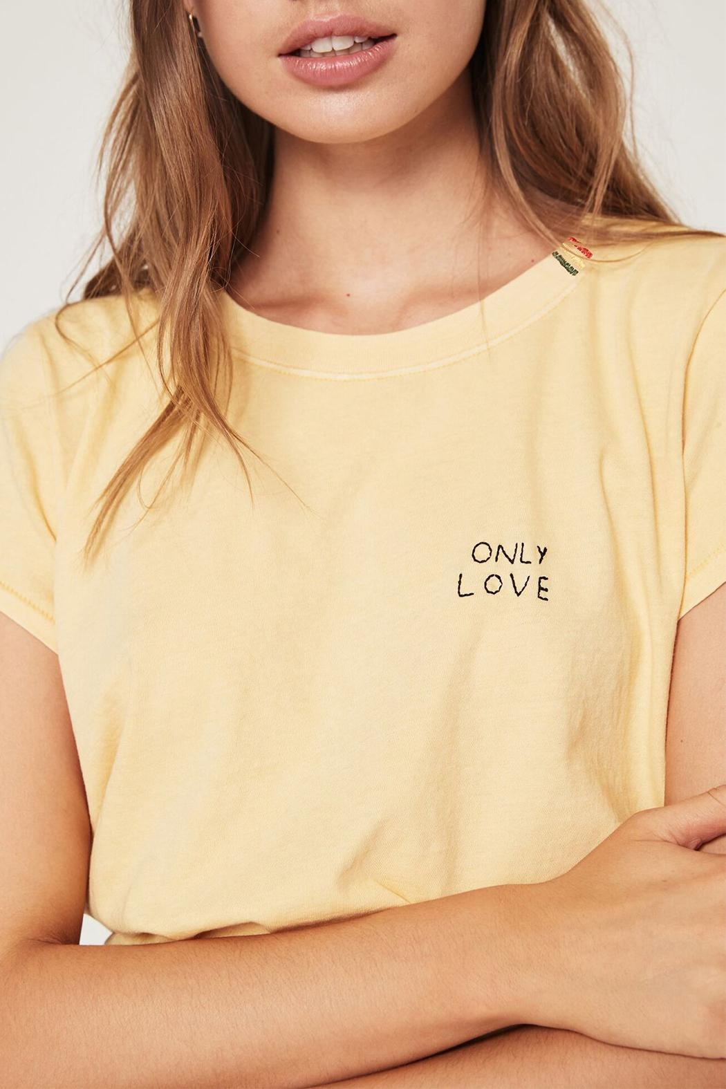 SPIRITUAL GANGSTER Love Classic Tee - Side Cropped Image
